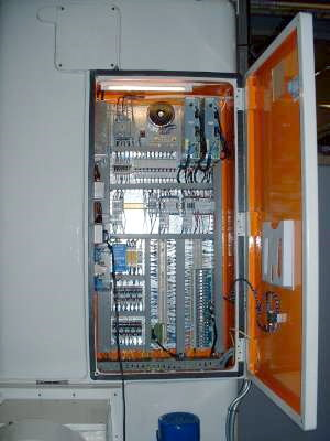 Webster Bennett new Electrical Panel